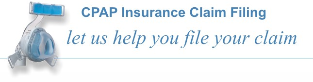 CPAP-Supply.com can help you file your insurance claim for the purchase of your CPAP equipment. We routinely file claims with BlueCross BlueShield, Aetna, and United Health Care.