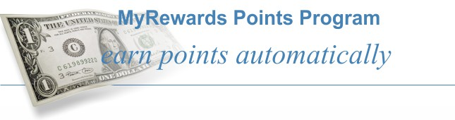Earn points automatically to save on CPAP equipment.