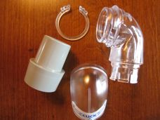 ResMed Ultra Mirage II Nasal Mask Elbow Assembly