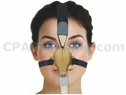 Sleepweaver Advance Low Profile Soft Cloth Nasal Cpap Mask